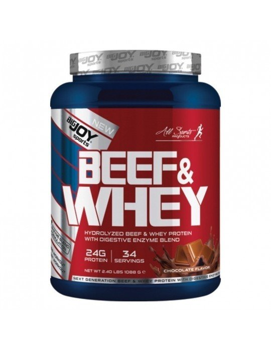 Big Joy Beef And Whey Protein 1088 Gr
